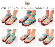 One sandal - Endless possibilities