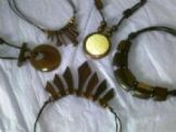 Hand carved necklaces