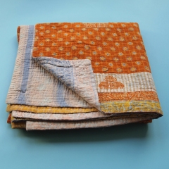 Image: Kantha blanket from Tulsi Crafts